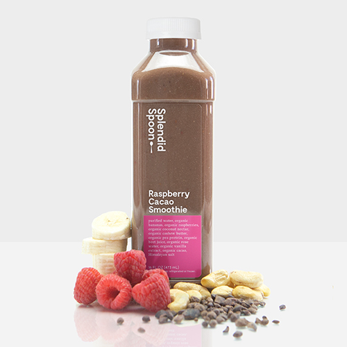 Raspberry Cacao Smoothie