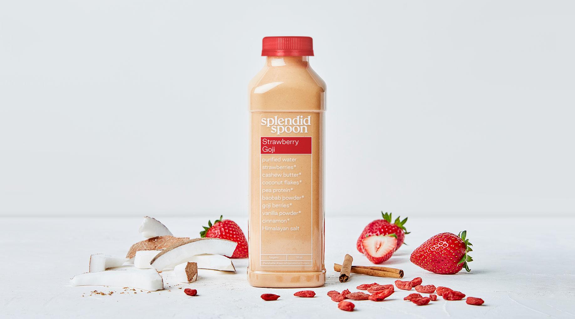 Strawberry Goji Smoothie