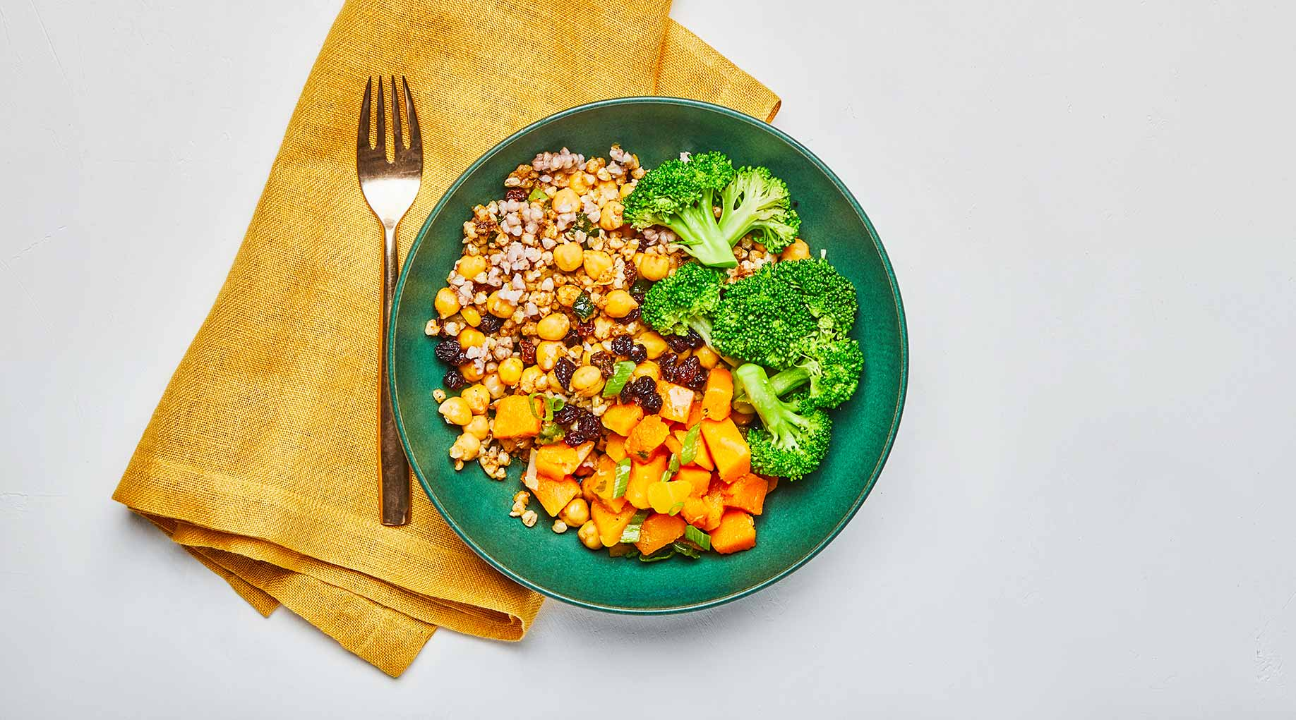 Moroccan Spiced Buckwheat Bowl