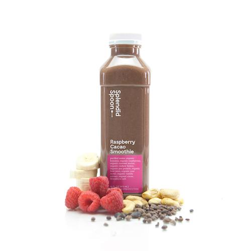 Raspberry Cacao Smoothie